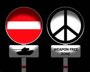 Un mundo sin armas